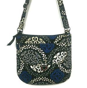 Vera Bradley Blue White Crossbody Bag